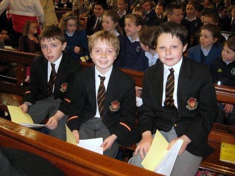 Boys from Fifth Class Choir