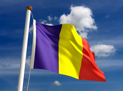 National Flag of Romania