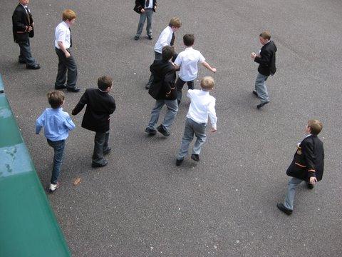 Football: Shirts v Blazers
