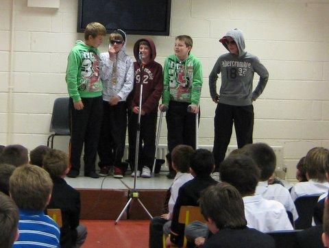 Boyz from the Hood: Sixth Class rap group