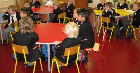 Junior Infants Classroom