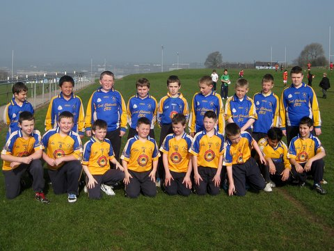The Scoil Cholmchille Team